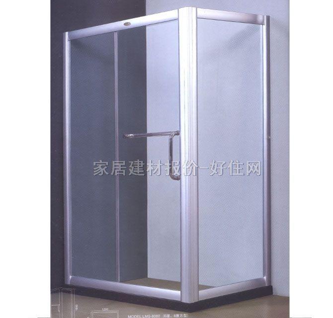 乐美斯钢化玻璃淋浴房效果图