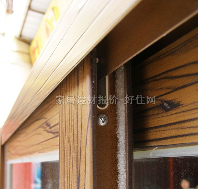 oplv推拉窗 铝合金gl-仿木纹 订做