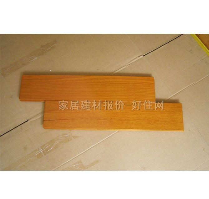 华信实木地板 柚沙木 460mm×75mm×厚18mm