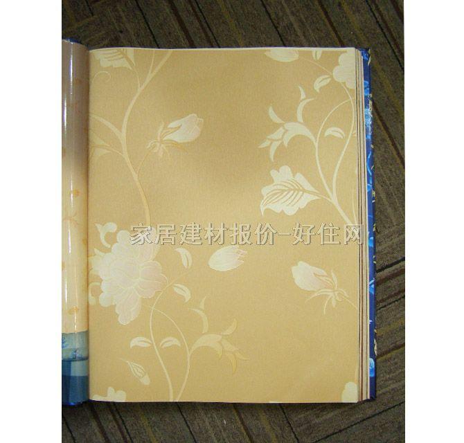 【雷克萨斯墙纸_欧式风格浅黄色小花lx-2703