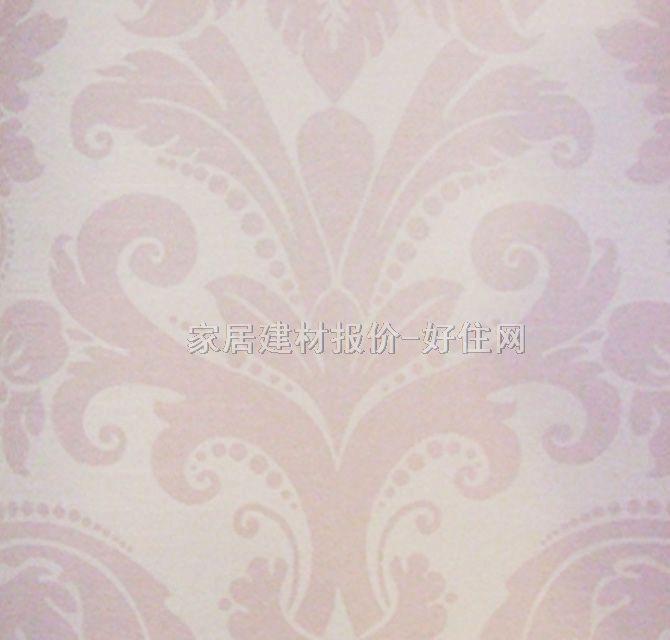 欧式风格粉红色花纹