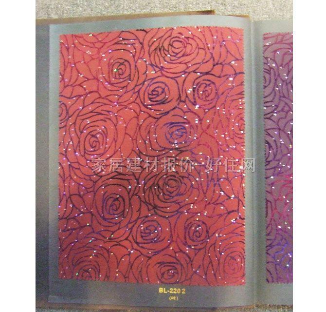 墙纸_欧式风格红色玫瑰花朵