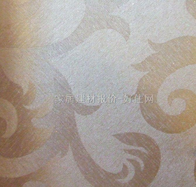 泰特墙纸 豪华风格银色花纹 50×1.3m 欧花 金色
