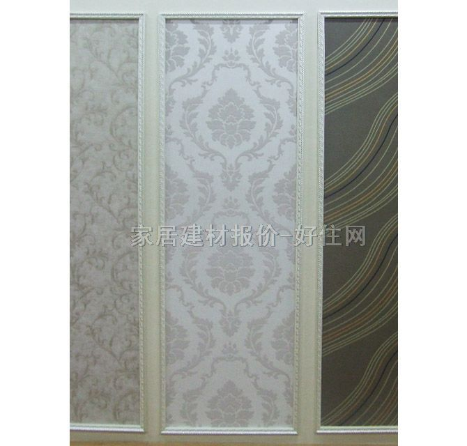 金田野墙纸 淡雅风格纯白放蕾丝花纹 宽530mm×长10米 欧花 白色
