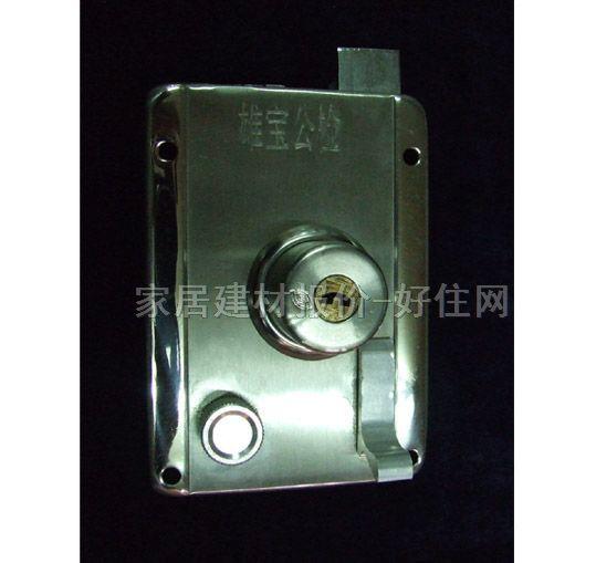 雄宝防火防盗门锁 不锈钢 铜芯 常用规格
