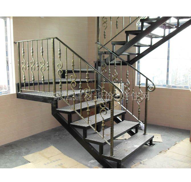 室内铁艺楼梯效果图 室内铁艺楼梯图片 室内铁艺楼梯效果图