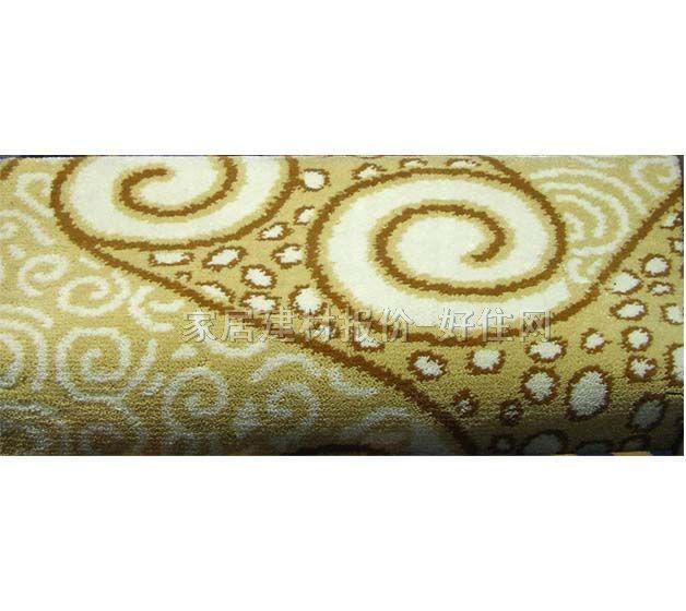 黄色地毯花纹材质贴图