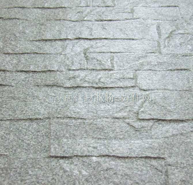 俊典文化石 仿文化石 灰色 长600mm×宽300mm