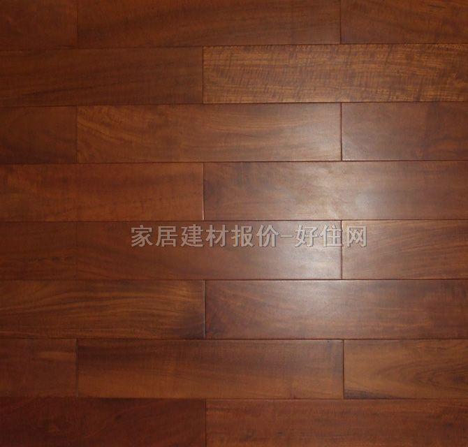 【大自然实木地板_柚木2941