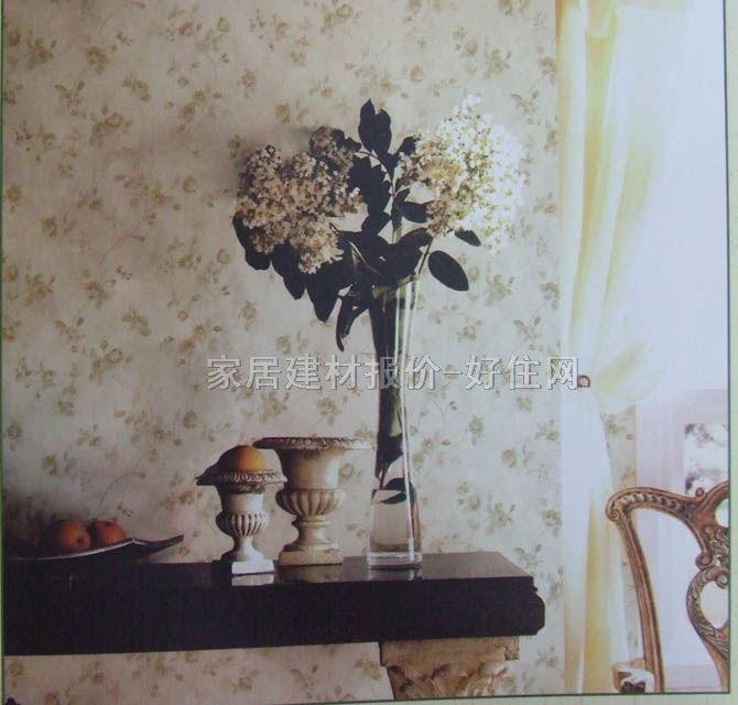 欧雅墙纸 欧式风格小碎花 0.7×10m 花 白色