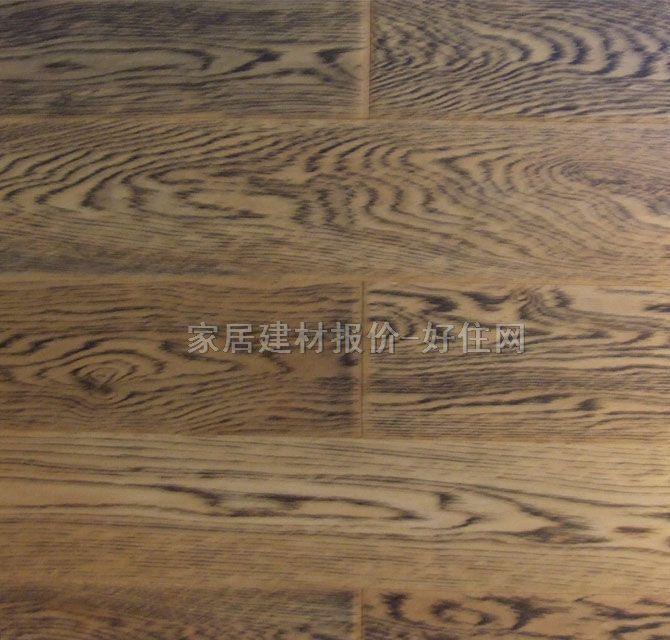 圣象地板实木复合地板 多层实木复合约克骑士橡木aq6177 910mm×125mm