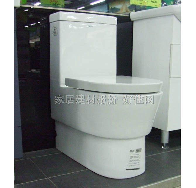 法恩莎连体马桶坐厕 fb-1662m/l 670mm×375×高795mm