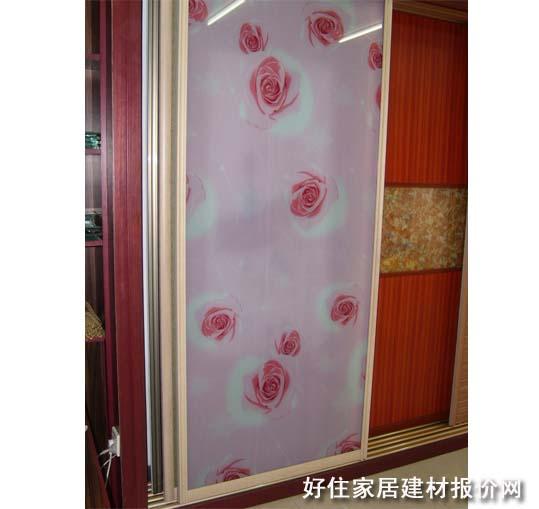 卧室衣柜推拉门 订做 强化玻璃