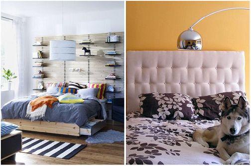 各式新颖卧室床头设计
